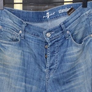 7 for all Mankind Standard blue jeans